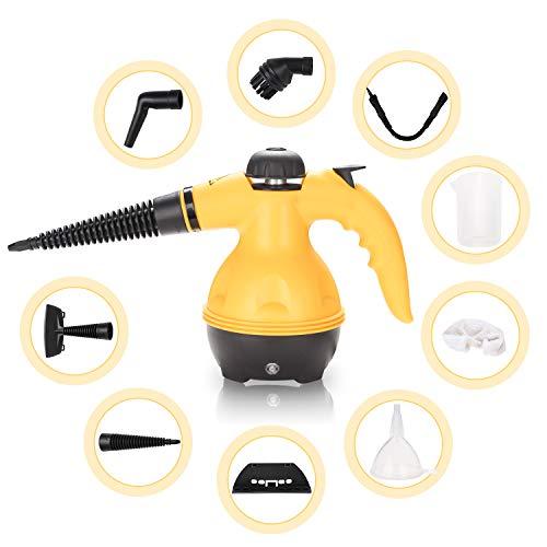 VINGO Dampfreiniger handgerät, tragbare und vielseitiger tragbarer...