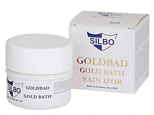 SILBO Goldbad Tauchbad zur Reinigung von Goldschmuck und Münzen
