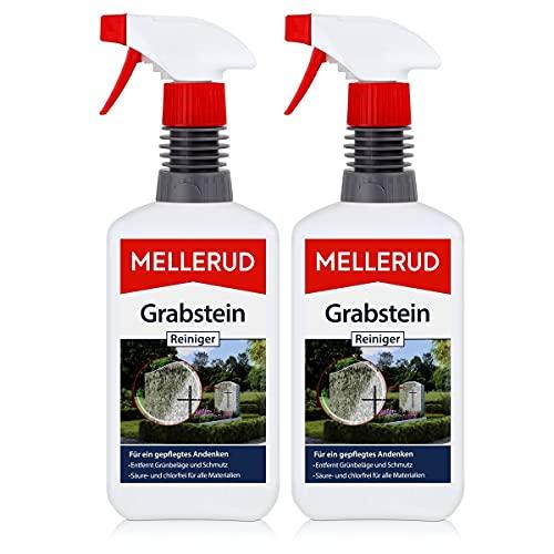2x Mellerud Grabstein Reiniger 500 ml