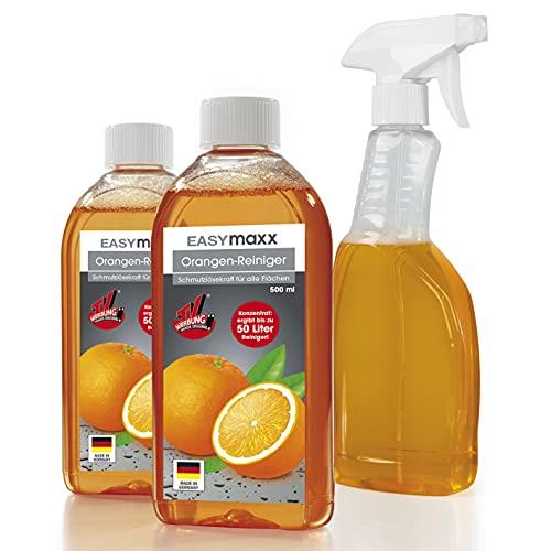 EASYmaxx Orangenreiniger 3tlg. | Löst hartnäckigen Schmutz |...