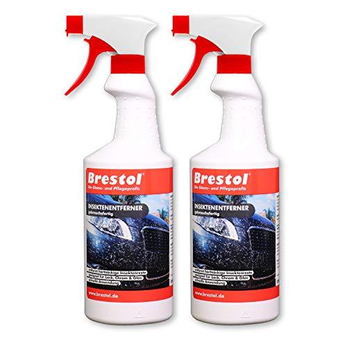 Brestol Insektenentferner 2X 750 ml gebrauchsfertig - Insektenlöser...