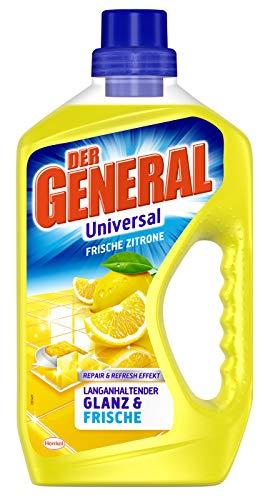 Der General Universal Frische Zitrone, Allzweckreiniger, 750 ml, für...