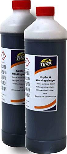 Kupferreiniger/Messingreiniger (2000 ml) - Metall reinigen, Politur,...