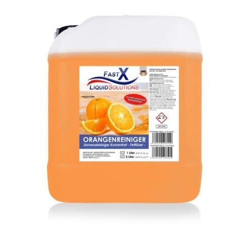 Orangenreiniger Konzentrat 5 Liter Fettloser Fleckentferner...