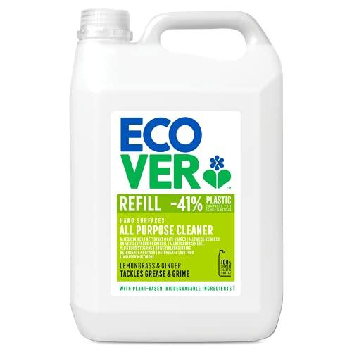 Ecover Allzweckreiniger Zitronengras & Ingwer (5 L), nachhaltiger...