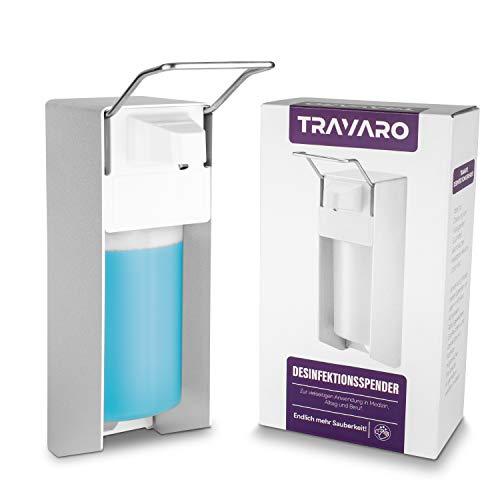 MTRUE Travaro Desinfektionsmittel Spender 500ml I Desinfektionsspender...