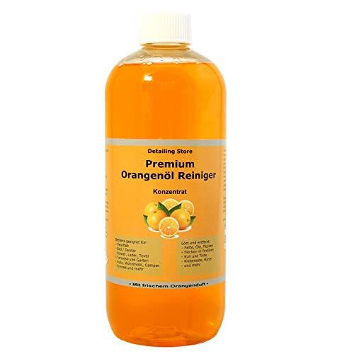 Orangenöl Reiniger Konzentrat - Premium Orangenreiniger - Intensiv...