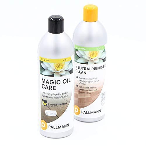 werketto Pflegeset - Pallmann Magic Oil Care & Neutralreiniger