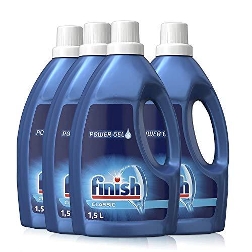 Finish Classic Power Gel, phosphatfrei – Geschirrspülmittel für...