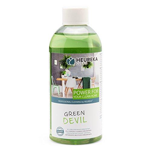 HEUREKA Allzweckreiniger Konzentrat - Green Devil, 500 ml für 450 l...