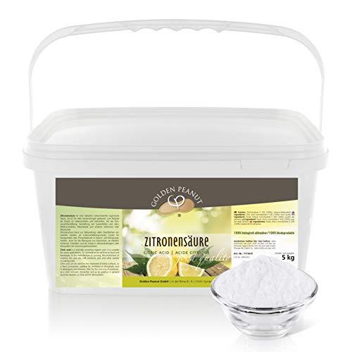 Zitronensäure monohydrat E-330 5 kg   Lebensmittelqualität   ohne...