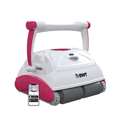 BWT Pool-Roboter D300 APP   Optimale Reinigung für Boden, Wand &...
