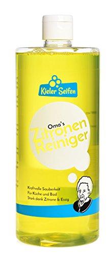 Kieler Seifen - Oma's Zitronenreiniger Badreiniger Sanitär Putzmittel...