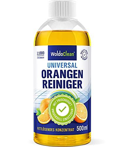Orangenreiniger Konzentrat fettlösend und hochkonzentriert - 500ml...