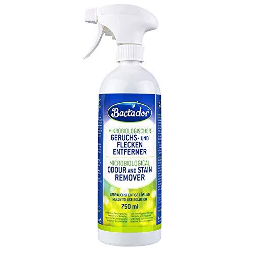 Bactador Geruchsentferner & Fleckenentferner Spray 750ml -...