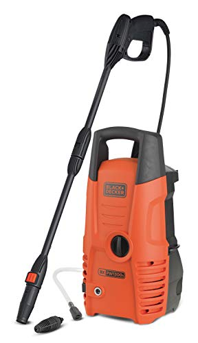 Black + Decker PW1300S Black and Decker 14075 Hochdruckreiniger, 1.300...