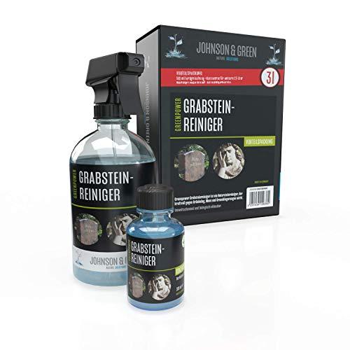 Greenpower Grabsteinreiniger Vorteilspack für bis zu 3 Liter, wirkt...