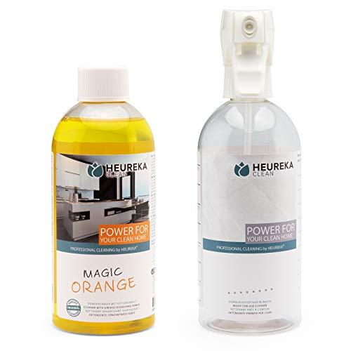 HEUREKA Orangenreiniger Konzentrat - Magic Orange, 500 ml für 500 l...