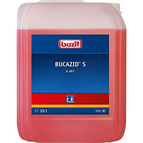 Buzil Sanitärreiniger Bucazid S G467 kraftvoller Reiniger, für Bad...