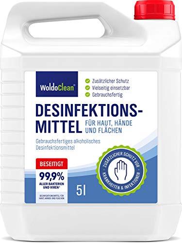 Desinfektionsmittel für Hände, Haut und Flächen 5l -...
