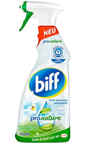 biff Pro Nature, Badreiniger, Sprühflasche, entfernt Kalk und Schmutz...