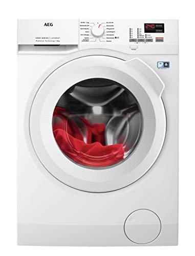 AEG L6FBA484 Waschmaschine Frontlader / 190,0 kWh/Jahr / Waschautomat...