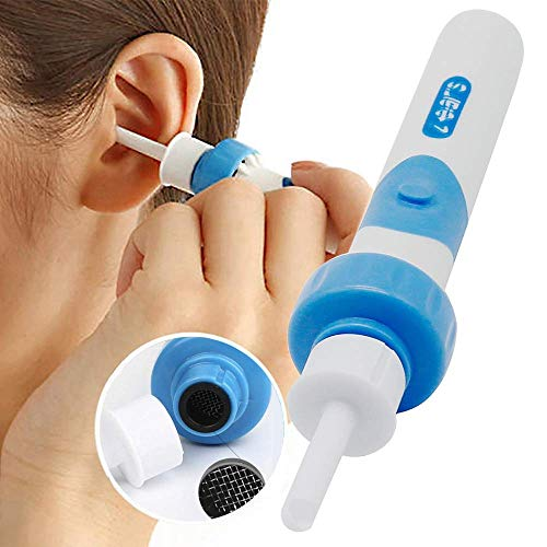 Ohrenreiniger, Elektrische Ohrwachsentferner, Sicherer Ohrenschmalz...