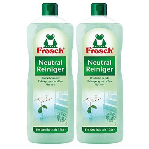 2x Frosch Neutral Reiniger1 Liter