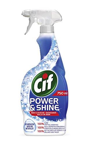 Cif Power und Shine Reiniger Spray Bad und Dusche, 6er Pack (6 x 750...