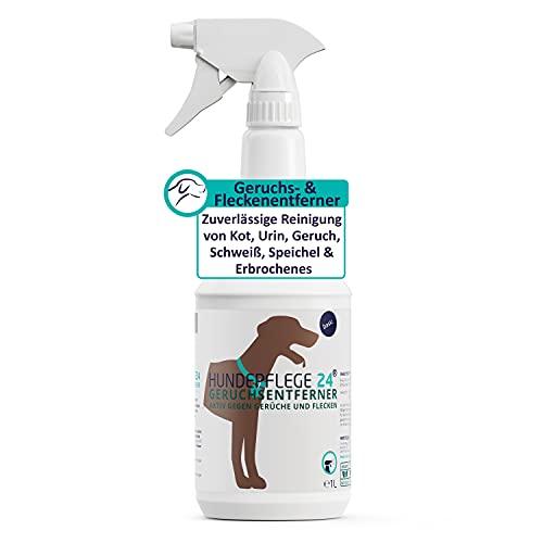 Hundepflege24 Geruchsentferner & Fleckenentferner Spray 1l -...