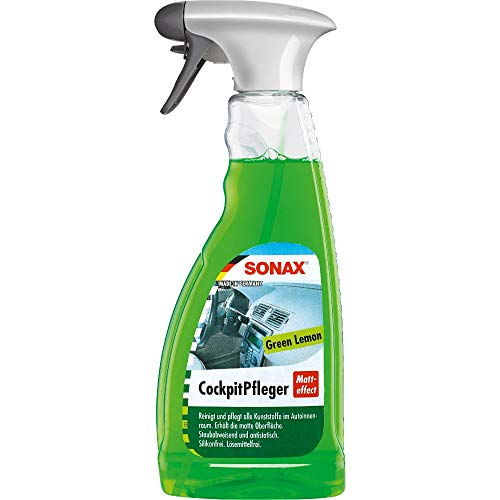 SONAX CockpitPfleger Matteffect Green Lemon (500 ml) reinigt und...