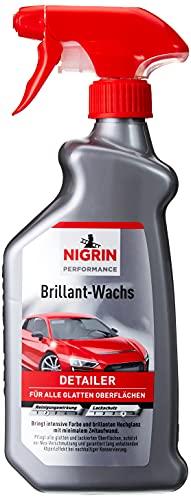 NIGRIN Performance Brillant-Wachs TURBO Auto Wachs, 500 ml...
