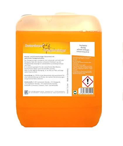 Mastercleaner Orangenreiniger Konzentrat mit nat. Orangenöl der...