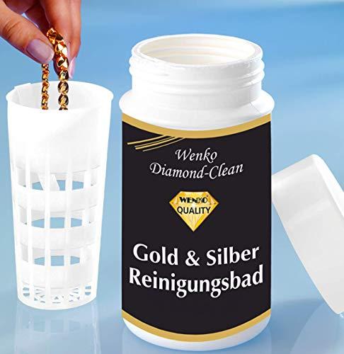 WENKO 3085610500 Diamond Clean Gold- & Silber Reinigungsbad,...