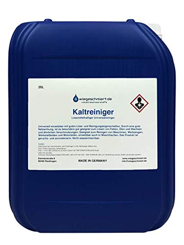 Kaltreiniger Maschinen & Anlagenreiniger (20 Liter)