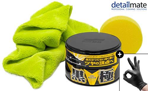 detailmate Wachs Set: Soft99 Extreme Gloss Wax The Kiwami Dark,...