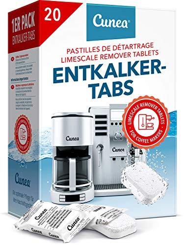 Entkalkungstabletten für Kaffeevollautomaten 20 Tabs - kompatibel mit...