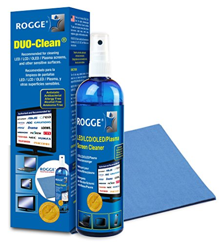 ROGGE DUO CLean Original, 250ml LCD/TFT+Plasma Reiniger+1...