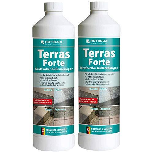 HOTREGA Terras Forte kraftvoller Außenreiniger Konzentrat 1 l -...