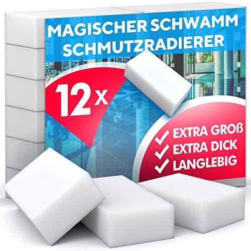 Schmutzradierer Schwamm, hohe Dichte - Nano Melamin Schwämme,...