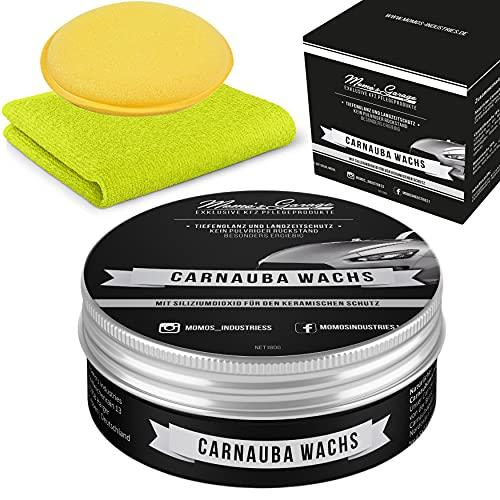 Momo's Garage ® Carnauba Politur + Wax mit SiO2 Versiegelung High...