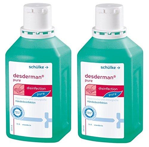 Desderman pure Händedesinfektion 2 x 500 ml