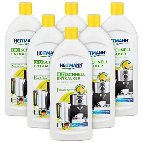 Heitmann Bio Schnell Entkalker: Reinigung von Elektrogeräten,...