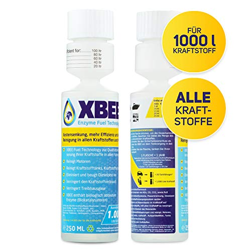 XBEE® All in One Additiv – voll org. Diesel Additiv & Benzin...