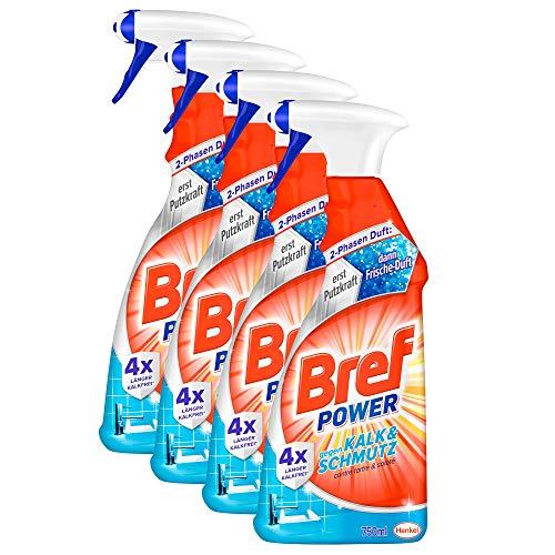 Bref Power Kalk & Schmutz, Kalkreiniger, Sprühflasche, für...