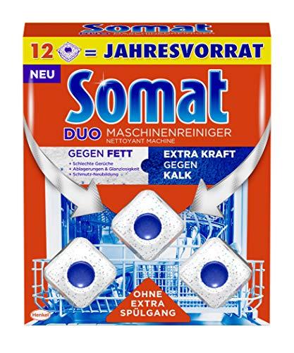 Somat Maschinenreiniger Tabs, Maxipack, 12 Stück, hygienisch und...
