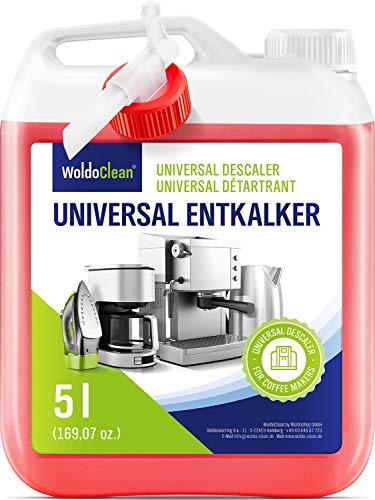 Entkalker 5 Liter für Kaffeemaschine & Kaffeevollautomat - mit allen...