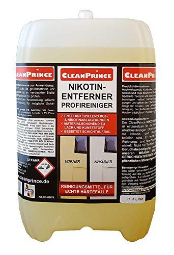 Cleanprince Nikotinentferner 5 Liter Profireiniger Nikotinreiniger...