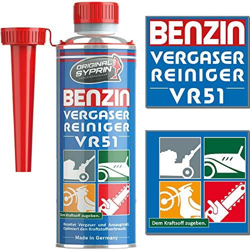 SYPRIN Original Vergaserreiniger VR51 für 2 Takt Benzin Motoren -...