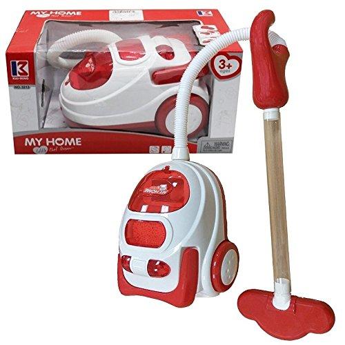 Fun & Play Kinder Rollenspiel Staubsauger Hoover Spielzeug mit Lichter...